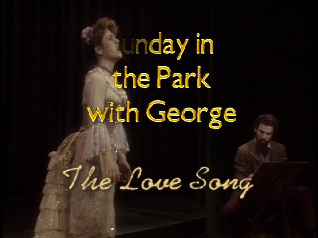 Bernadette Peters as Dot in the original production of Sunday in the Park With George