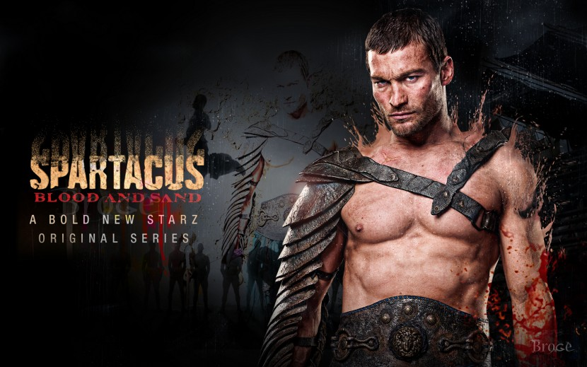 The Starz series Spartacus is available on Netflix.