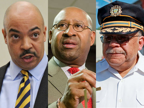 Philadelphia District Attorney Seth Williams, Mayor Michael Nutter, and Police Commissioner Charles H. Ramsey are being sued for defamation.