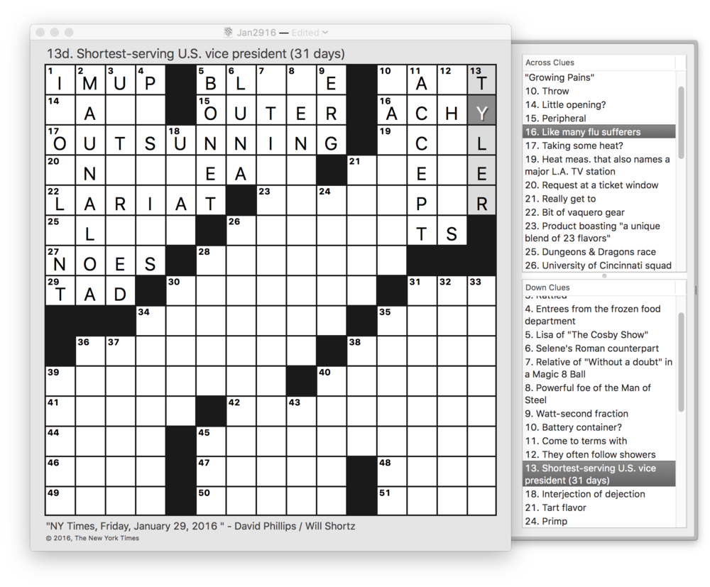 Friday Jan 29 2016 nyt crossword puzzle.png