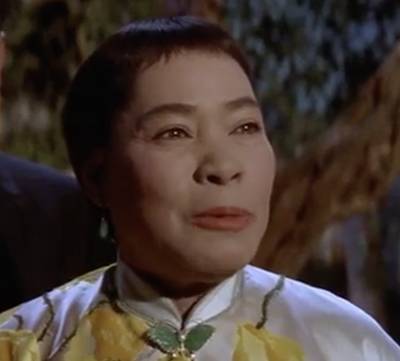 Juanita Hall as Madam Liang, a far cry from her stint as South Pacific's Bloody Mary