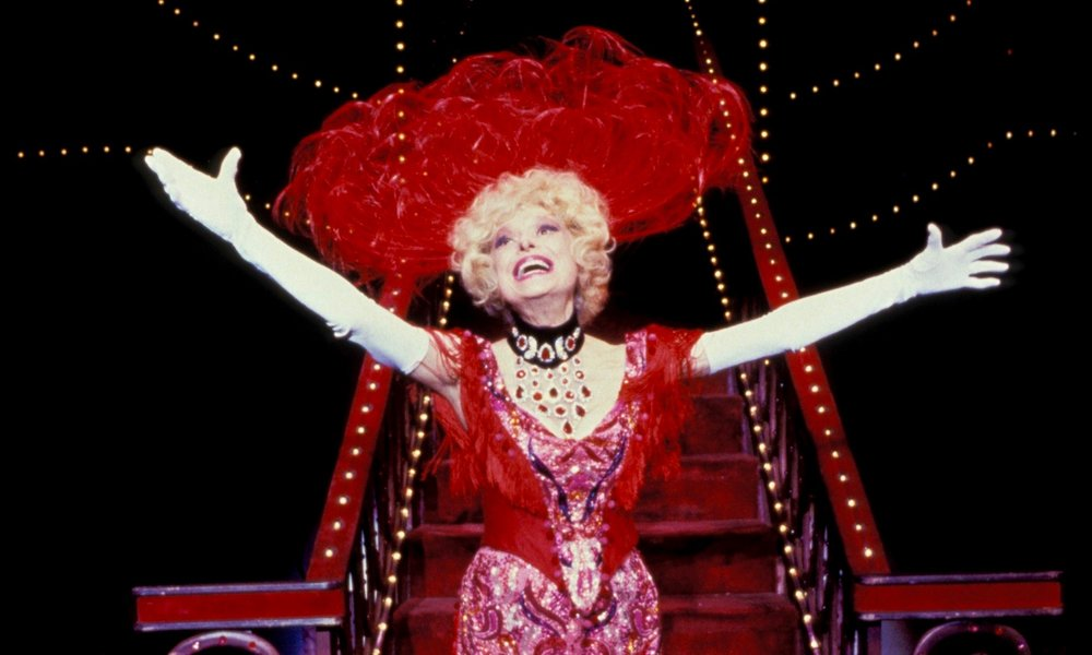 Carol Channing making her entrance as Dolly Levi in the Hello, Dolly! number