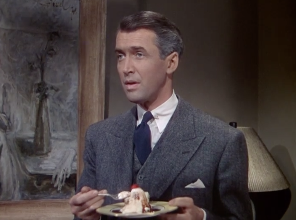I think Jimmy Stewart was miscast in Rope