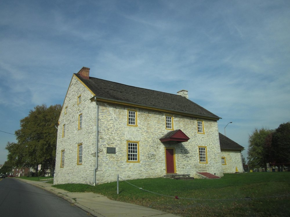I don't have a photo of Dr. Flanagan, but here's a pic of an old building in Myerstown