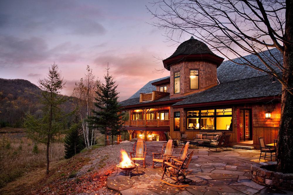 Private Residence  St. Regis Falls NY  Denise Stringer Design