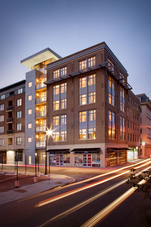 Studio Homes at Ellis Square  Savannah GA  Lynch Associates Architects