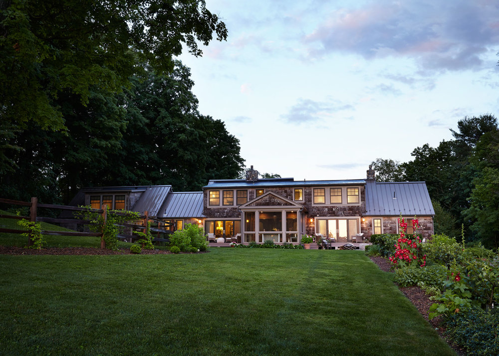 Private Residence  Berkshires MA  Annie Selke