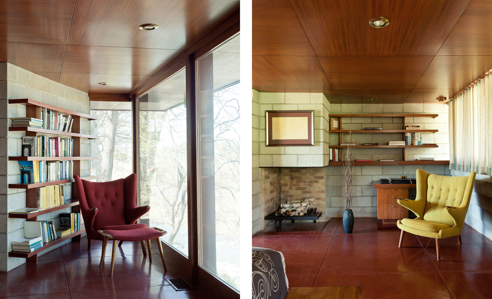The Marden House  McLean VA  Frank Lloyd Wright   View Full Project