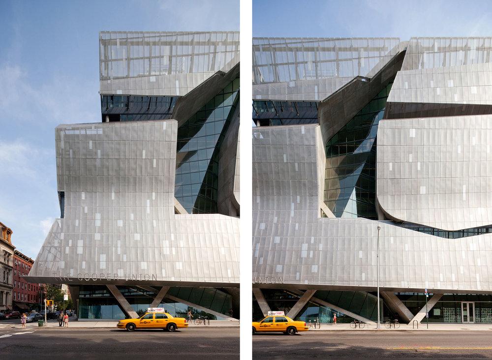 41 Cooper Square, Cooper Union  New York NY  Thom Mayne of Morphosis