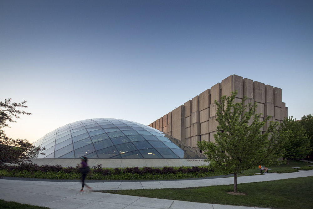 Joe and Rika Mansueto Library  University of Chicago  Helmut Jahn
