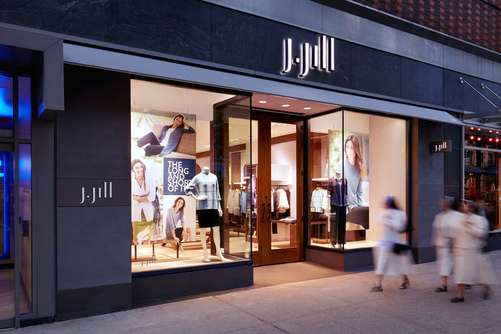 J Jill Store  Columbus Circle, NYC   View Full Project