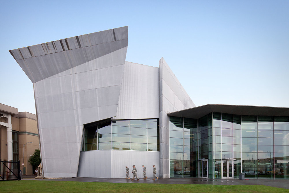 National WWII Museum  New Orleans LA  Voorsanger Architects