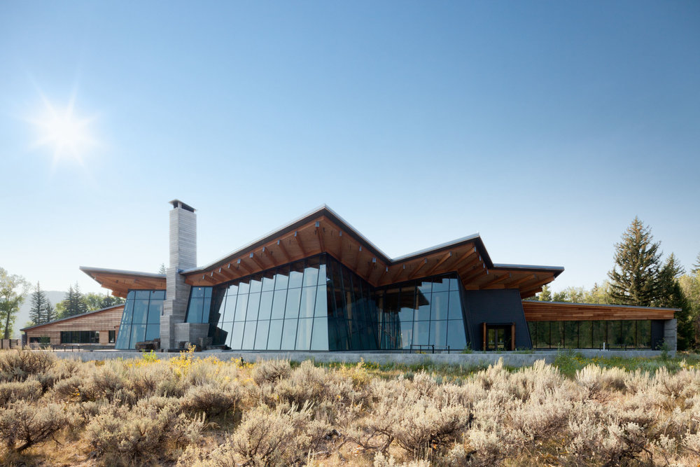 Craig Thomas Discovery & Visitor Center  Grand Teton National Park  Bohlin Cywinski Jackson