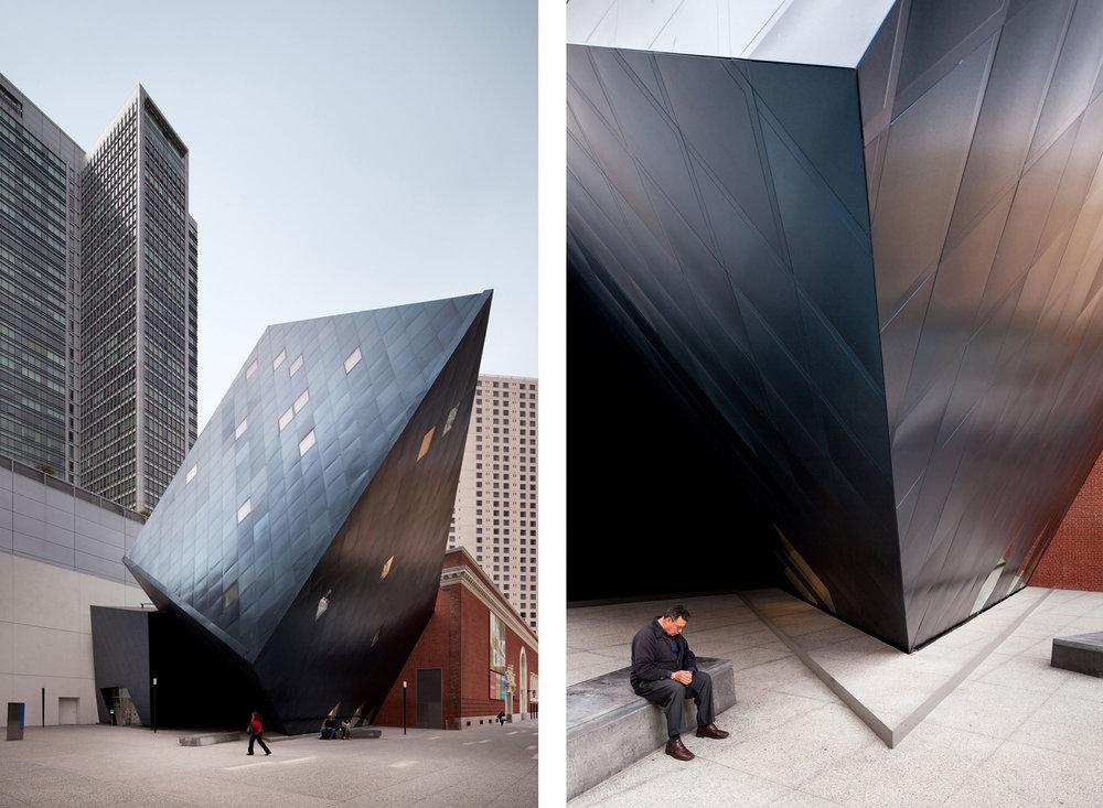 Contemporary Jewish Museum  San Francisco CA  Daniel Libeskind