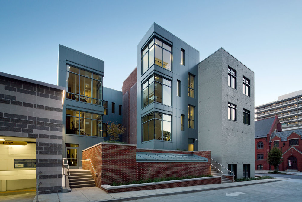 Law Learning Center, GWU  Washington DC  Perkins+Will
