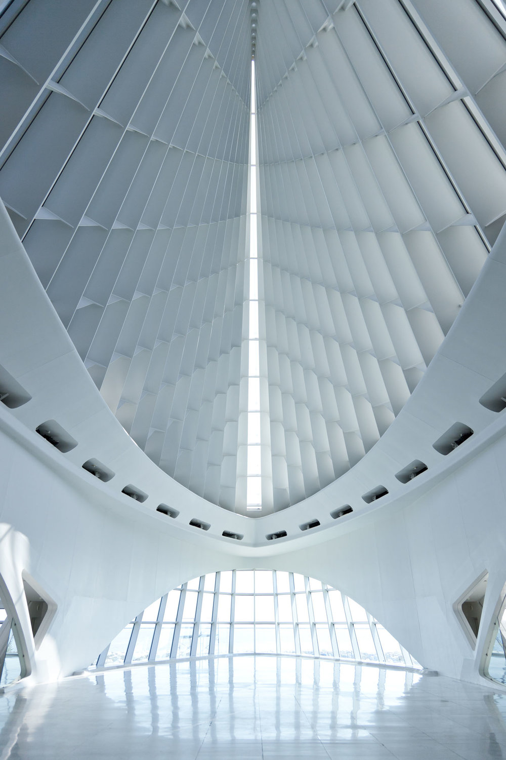 Quadracci Pavilion, Milwaukee Art Museum  Milwaukee WI  Santiago Calatrava   View Full Project