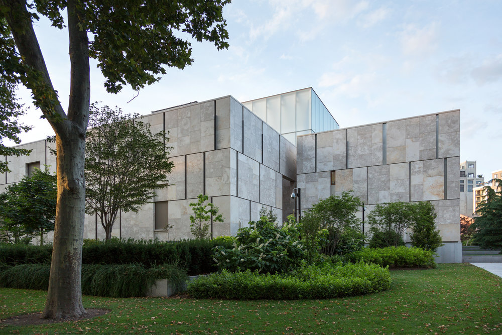 The Barnes Foundation  Philadelphia PA  Tod Williams & Bille Tsien   Back to Portfolios