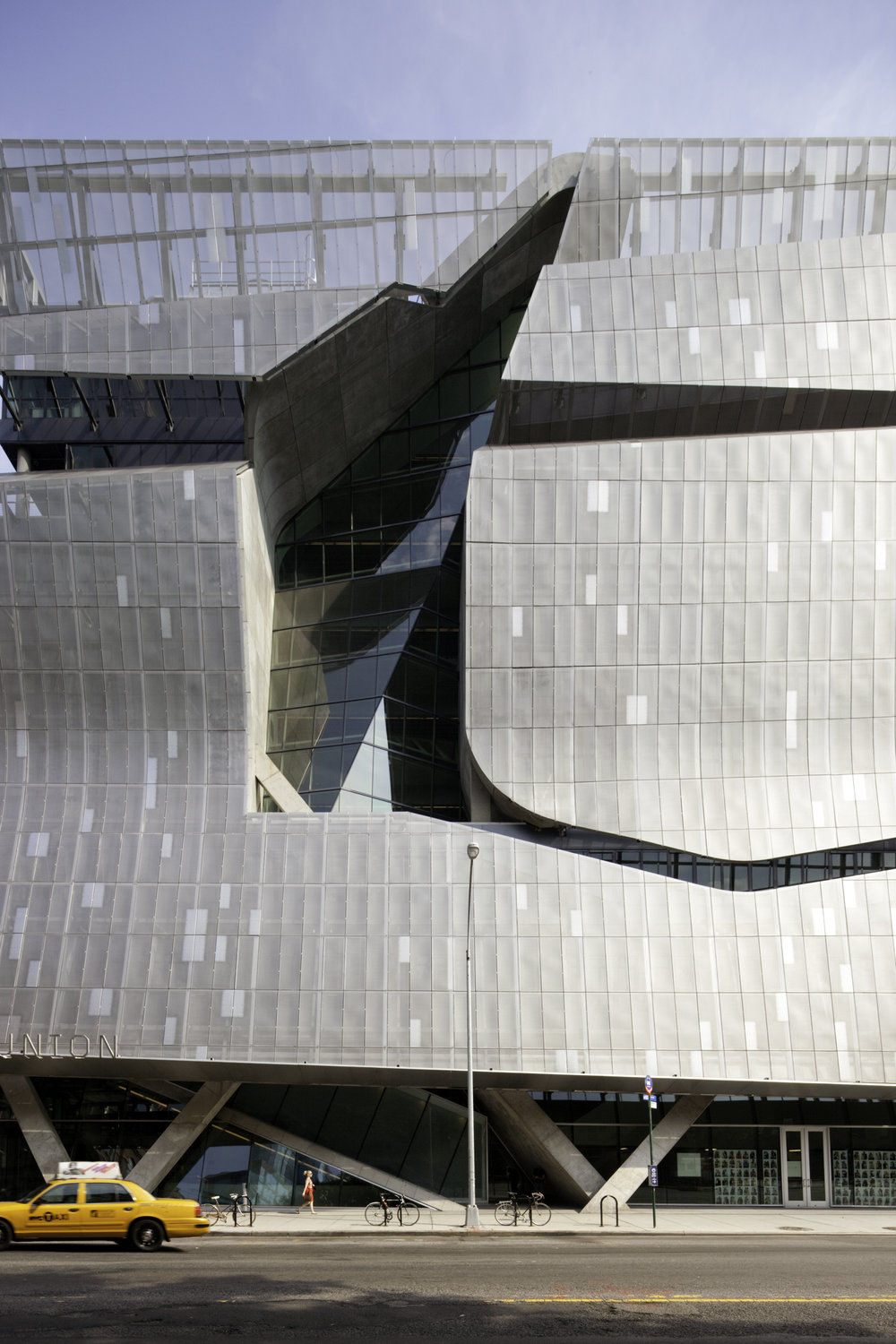 41 Cooper Square, Cooper Union  New York NY  Thom Mayne of Morphosis   Back to Portfolios