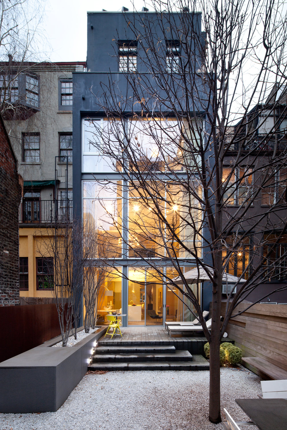 Private Residence  West Village, NYC  Robert Wilkanowski   Back to Portfolios