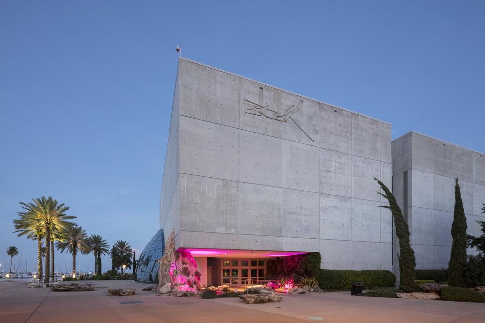 Salvador Dali Museum  St. Petersburg FL  HOK   Back to Portfolios