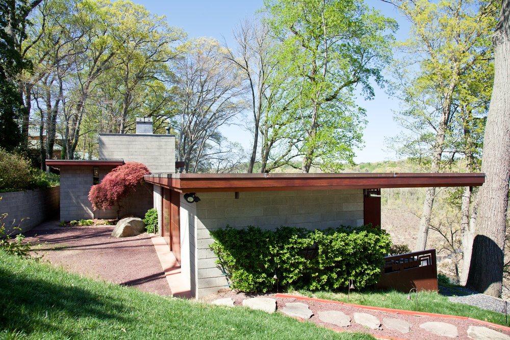 The Marden House  McLean VA  Frank Lloyd Wright   Back to Portfolios