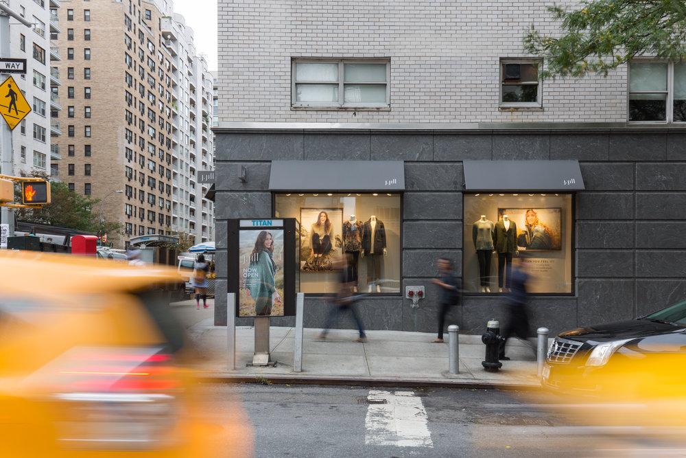 J Jill Store  3rd Avenue, NYC   Back to Portfolios