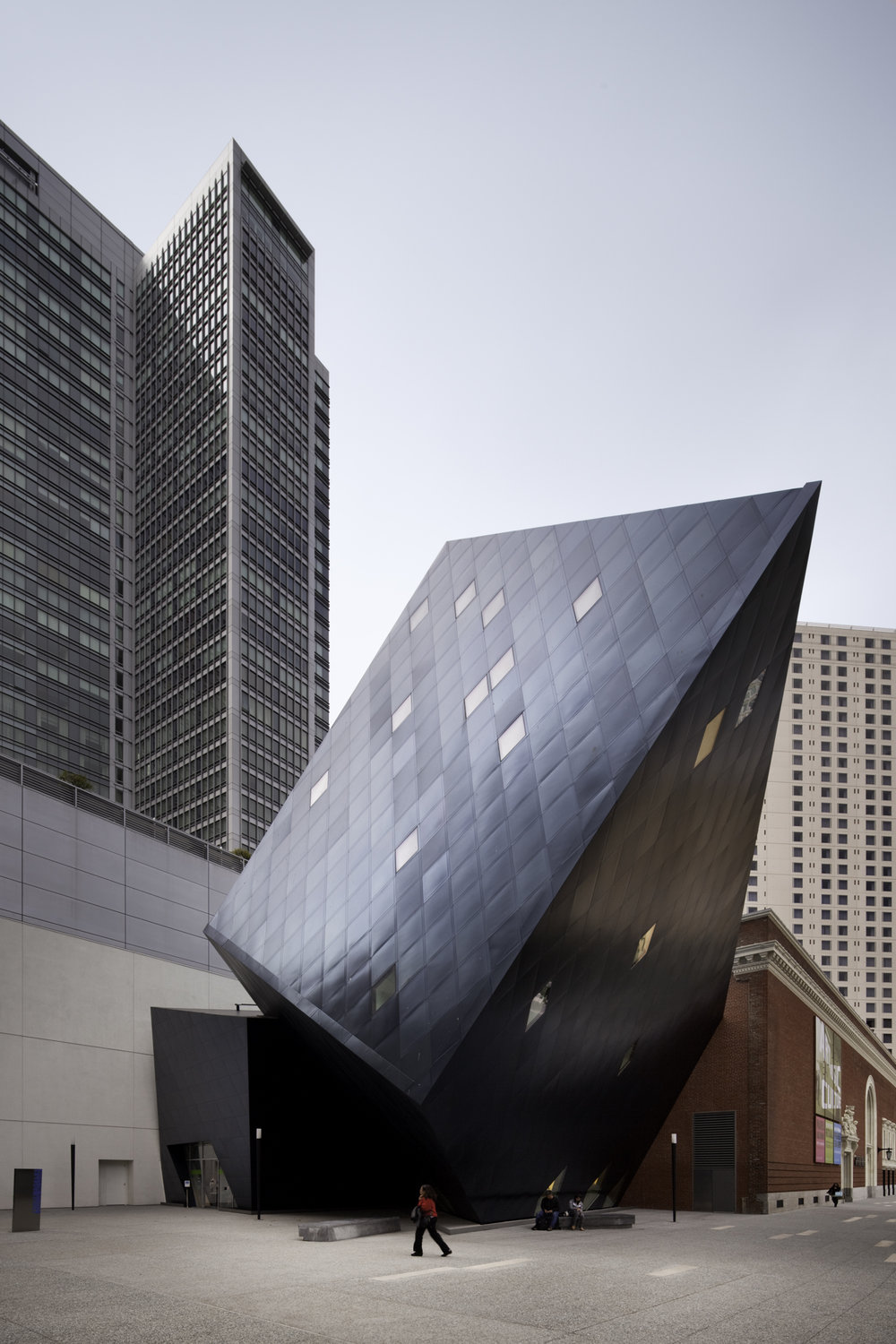 Contemporary Jewish Museum  San Francisco CA  Daniel Libeskind   Back to Portfolios