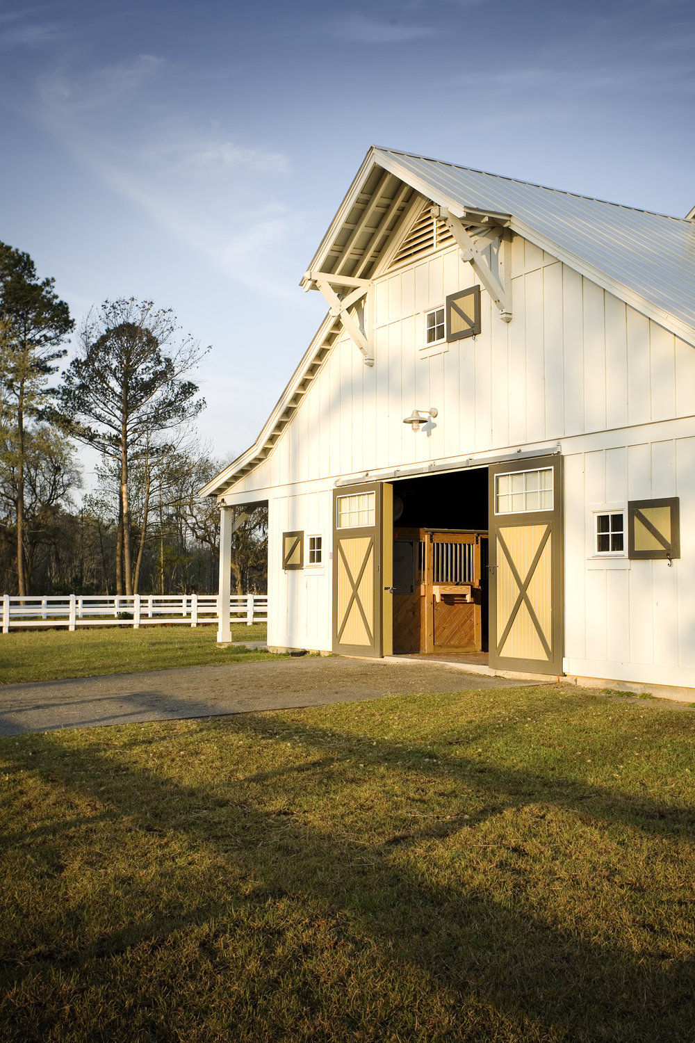 SCAD Ronald C Waranch Equestrian Center  Hardeeville SC  Dawson Wissmach   Back to Portfolios