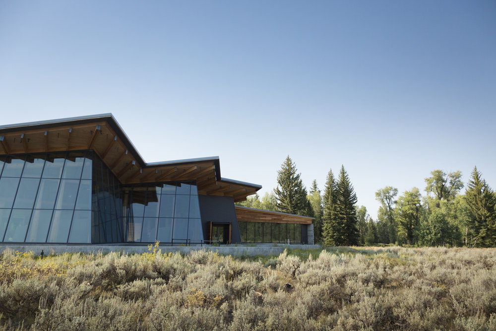 Craig Thomas Discovery & Visitor Center  Grand Teton National Park  Bohlin Cywinski Jackson   Back to Portfolios