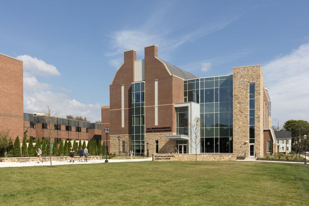 Health Sciences Building, Moravian College  Bethlehem PA  ESa   Back to Portfolios
