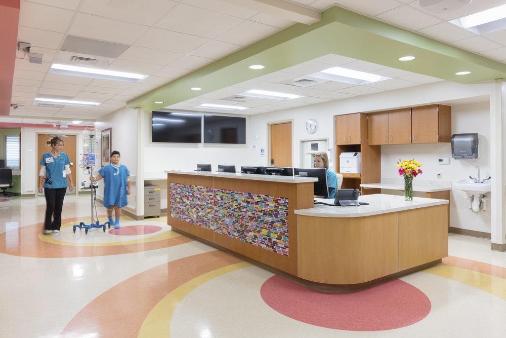 Methodist Children's Hospital  San Antonio TX  ESa   Back to Portfolios