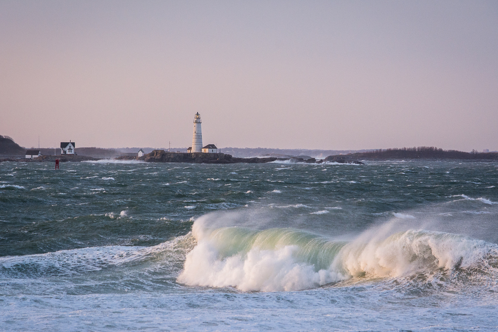 Boston Light, March 2014, Nikon DSLR