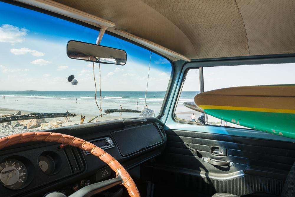View from VW, Nantasket Beach, Hull, MA, June 2016, Nikon DSLR