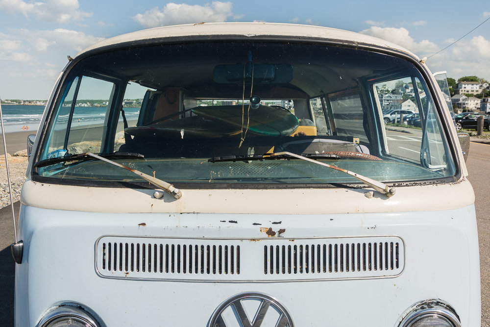 VW, Nantasket Beach, Hull, MA, June 2016, Nikon DSLR
