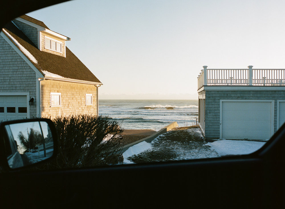 Scituate, MA, Winter 2017, 120mm film
