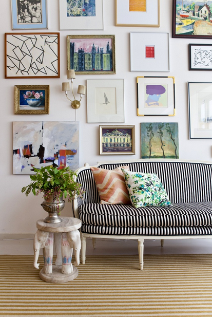 Salon Style Art Hanging — ASHLEY ROI JENKINS DESIGN