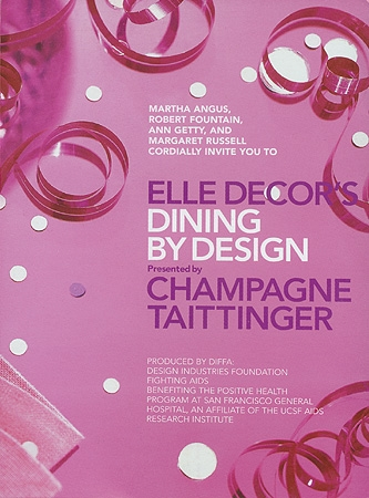 Cover for Elle Decor's Dining By Design