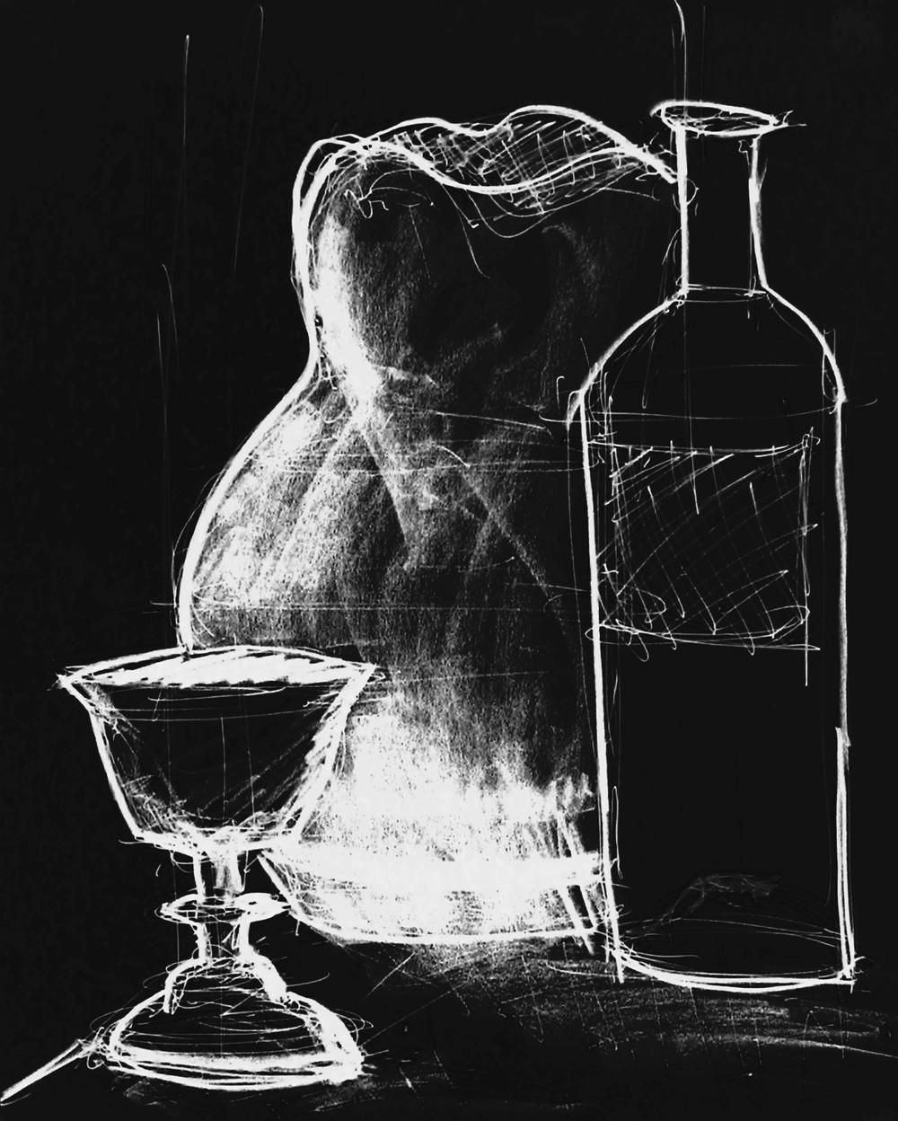 Still Life with Wine_b&w.jpg