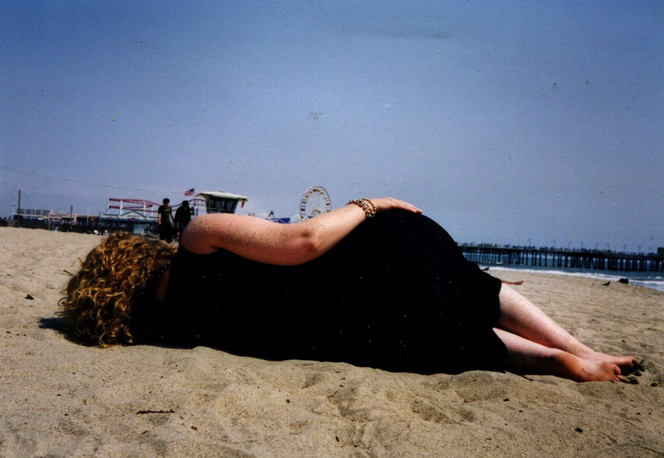 nap on the beach