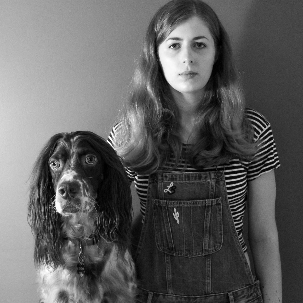 Lauren is the human, pictured here with her furry weirdo sidekick Monty. (Photo by LB herself)