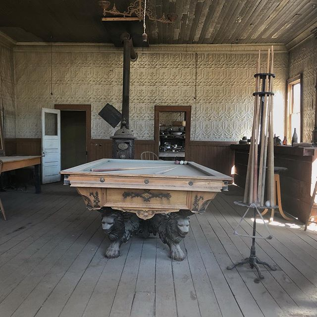 One of 60 Saloons in the ghost town of Bodie, CA.