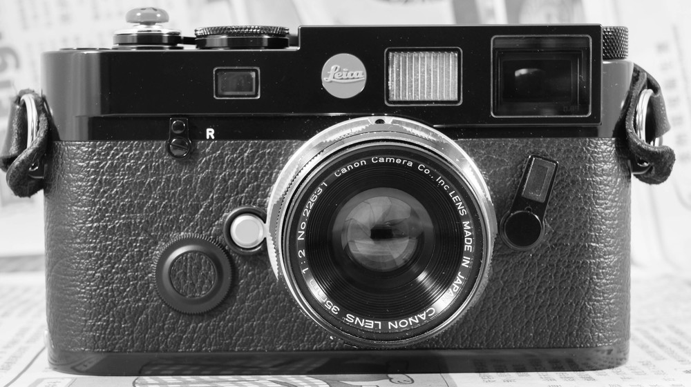 Leica M6 TTL ICS 0.85x Black Paint with Canon LTM 35mm f/2