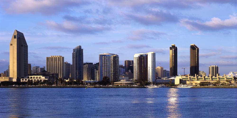 San Diego Skyline #1