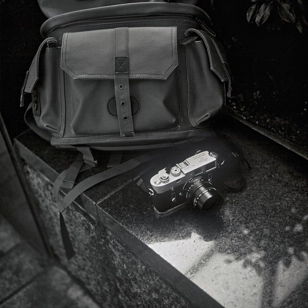 Ilford Pan F+ @ ISO20 | Minolta Autocord | ©Cameron Kline