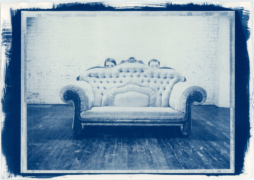 Shy People | Full Frame Cyanotype | Mamiya Universal | Jordan Urie