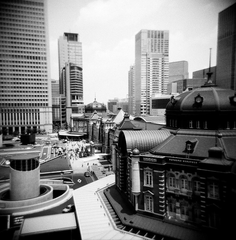Tokyo Station | Holga 120N | Todd Wagner