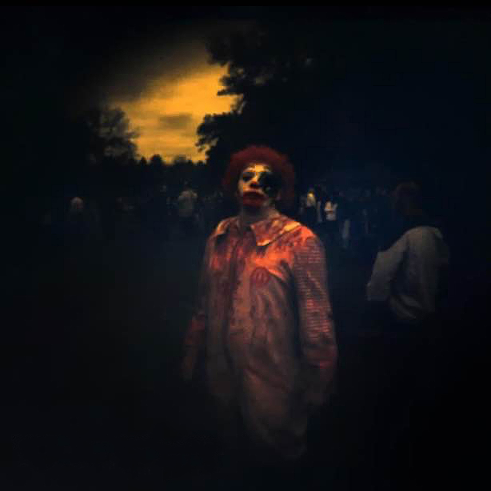 zombie walk | holga GN60 | stephen uhraney