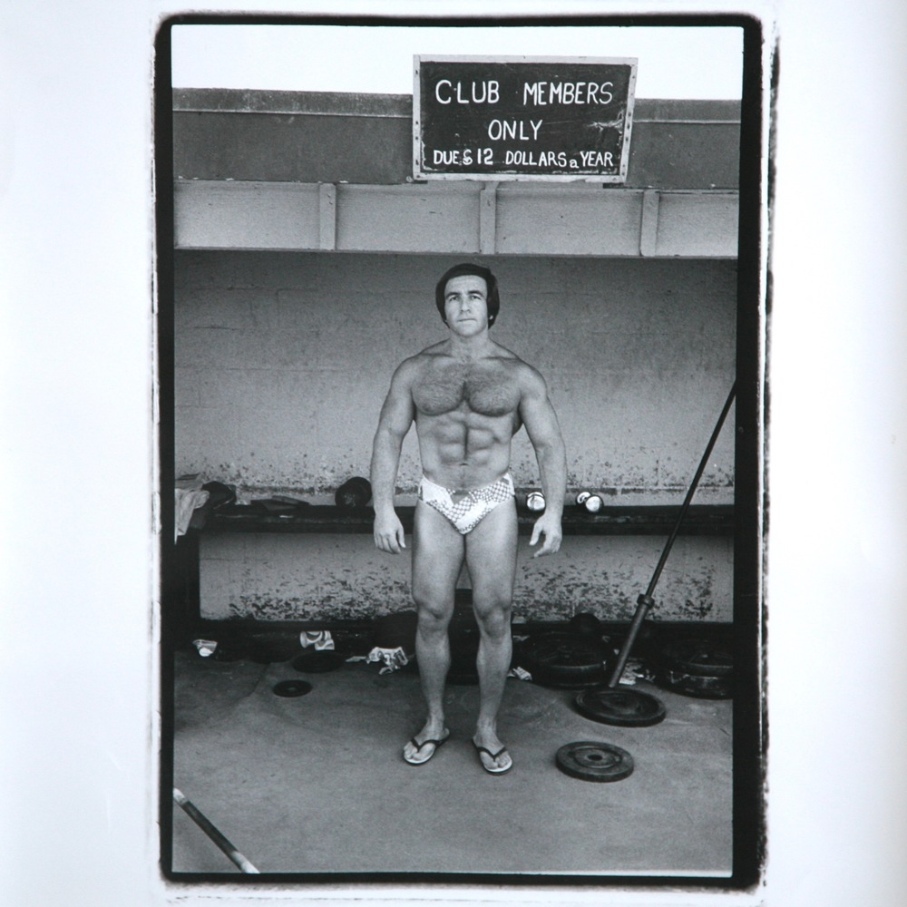 3 Muscle Beach, Venice CA 1973 | TriX Silver Print | Leica M2-35mm Summicron 2.8 | Peter Karnig