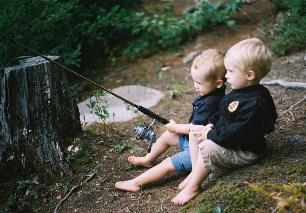 Fishing With Dad | Canon TL 50mm | Jennifer Battis