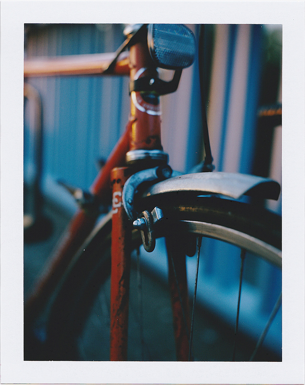 Baldoph Pourprix | Going Home From Work | Homemade Instant Camera - Mamiya Sekor 105mm